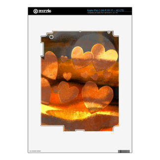 Caramel and Toffee iPad 3 Decal