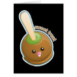 Caramel Apple Greeting Cards