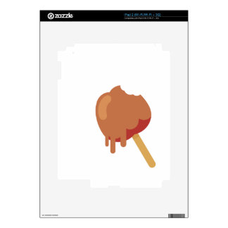 Caramel Apple iPad 2 Decal
