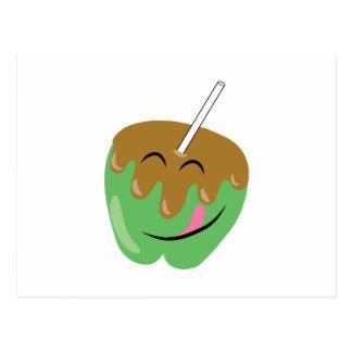 Caramel Apple Postcard