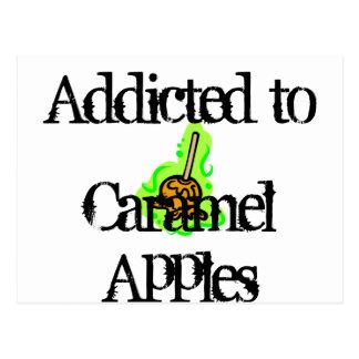 Caramel Apples Postcard