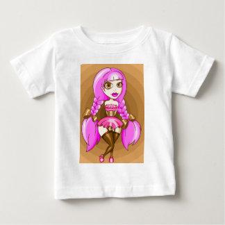 Caramel Candyfloss Baby T-Shirt