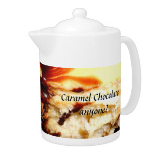 Caramel Chocolate Teapot