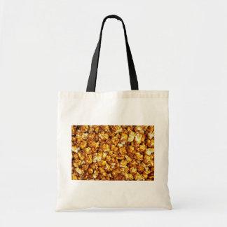 Caramel corn tote bag