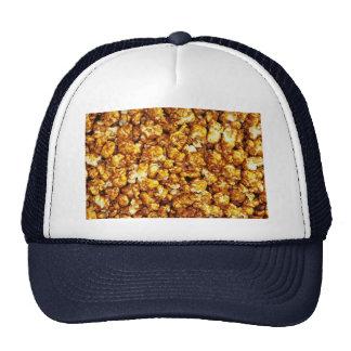 Caramel corn trucker hat