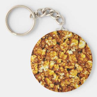 Caramel corn keychains