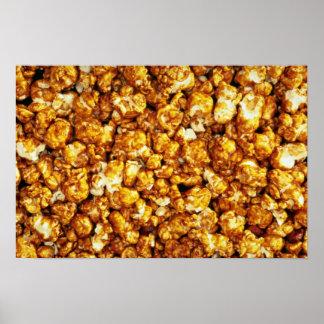 Caramel corn poster