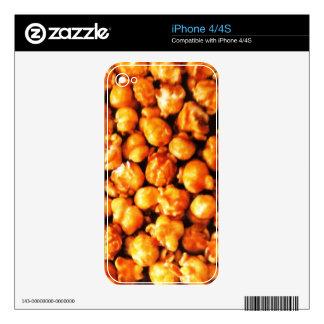 Caramel Corn Skin For The iPhone 4