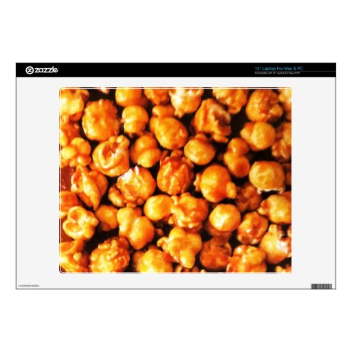 "Caramel Corn Decal For 14"" Laptop"