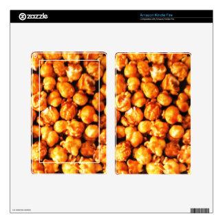 Caramel Corn Skin For Kindle Fire