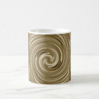 Caramel Cream Twist Mugs