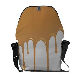 Caramel Drip Courier Bag
