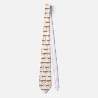 Caramel Drip Tie