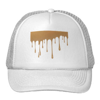 Caramel Drip Trucker Hat