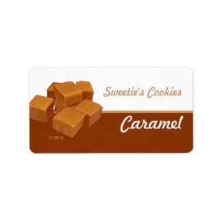 Caramel Flavored Labels
