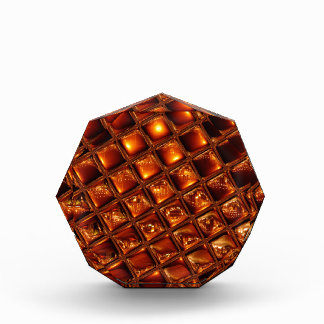 Caramel Honeycomb Acrylic Award