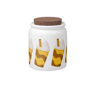 Caramel Milkshake Candy Jar