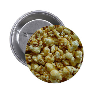 Caramel Popcorn Button