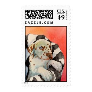 Caramel Postage Stamp