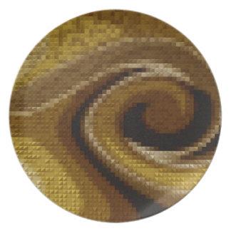 caramel swirl jpg plate