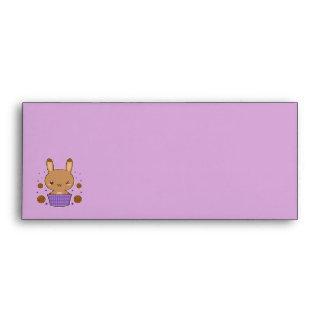 Caramel Truffle Bunny Envelopes