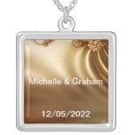 Caramel Wedding Set Jewelry
