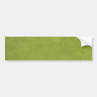CARAMELIZED CARAMEL MOSSY SWAMP GREEN BACKGROUND W BUMPER STICKER