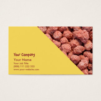 Caramelized peanuts business card