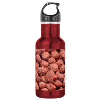 Caramelized peanuts stainless steel water bottle