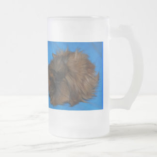 Caramello Frosted Glass Beer Mug