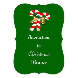 """Caramelo 1 de Navidad Invitación 5"""" X 7"""""""