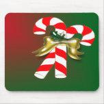 Caramelo 1 de Navidad Tapetes De Ratón