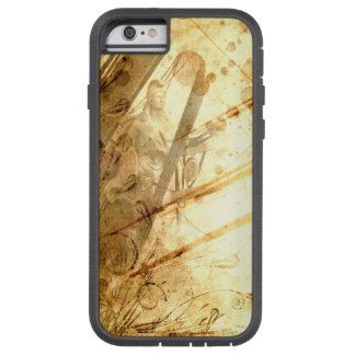 Caramelo ambarino del tono de la tierra del océano funda tough xtreme iPhone 6