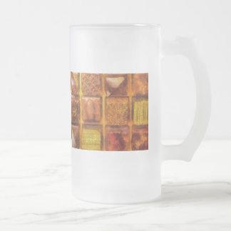 Caramelo - chocolates excelentes taza de cristal