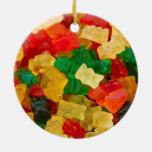 Caramelo coloreado arco iris gomoso del oso ornamentos para reyes magos