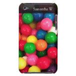 Caramelo colorido de la bola de goma iPod touch Case-Mate carcasa