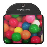 Caramelo colorido de la bola de goma funda macbook pro