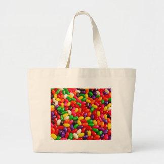 Caramelo colorido del jellybean bolsa de mano
