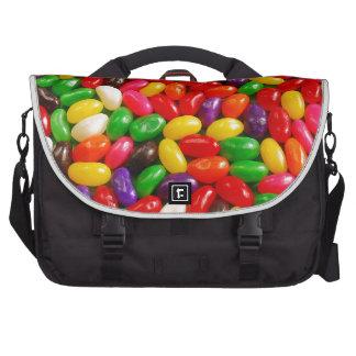Caramelo colorido del jellybean bolsas de portatil