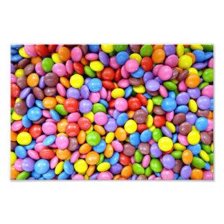 Caramelo colorido cojinete