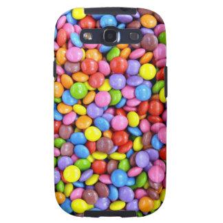 Caramelo colorido samsung galaxy s3 funda