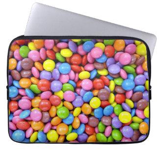 Caramelo colorido fundas ordendadores