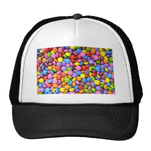 Caramelo colorido gorra