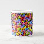 Caramelo colorido taza extra grande