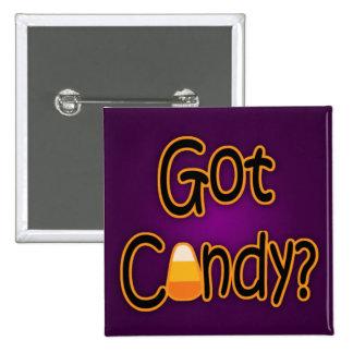 ¿Caramelo conseguido? Pin Cuadrada 5 Cm