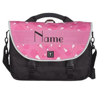 Caramelo de algodón rosado conocido personalizado bolsas para portátil