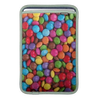 Caramelo de chocolate colorido funda macbook air