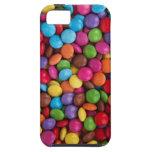 Caramelo de chocolate colorido iPhone 5 fundas