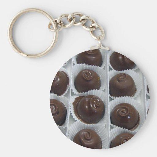 Caramelo de chocolate llavero personalizado