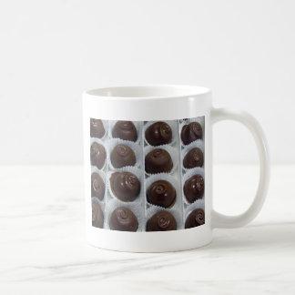 Caramelo de chocolate taza